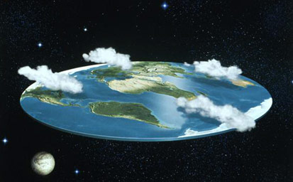 Earth was flat once