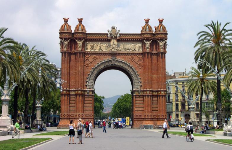 Triumph Arch, Barcelona, Spain