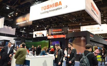 Toshiba Picks Wall of Tweets