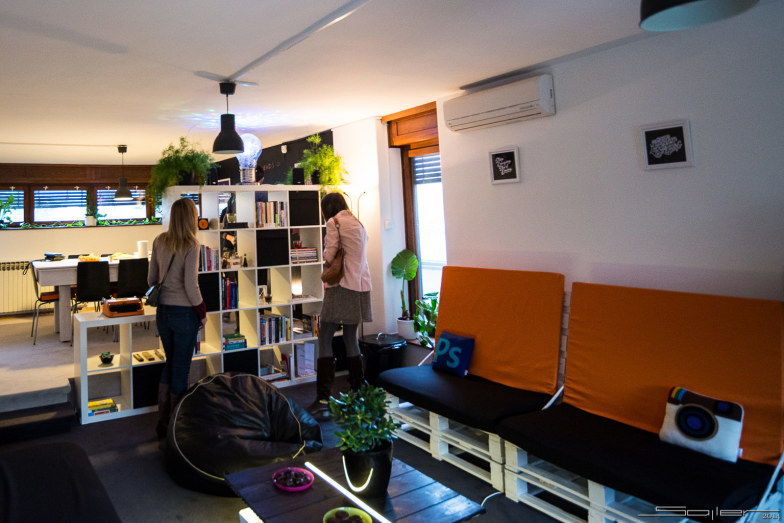 Our office library