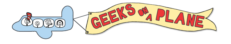 Geeks On A Plane logo