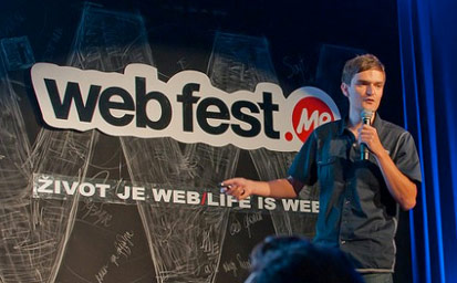 UX Passion at Webfest .ME