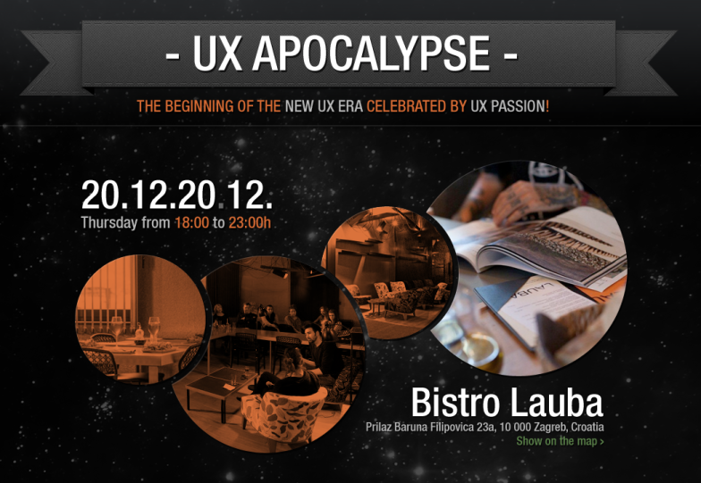 UX Apocalypse web by @ UX Passion