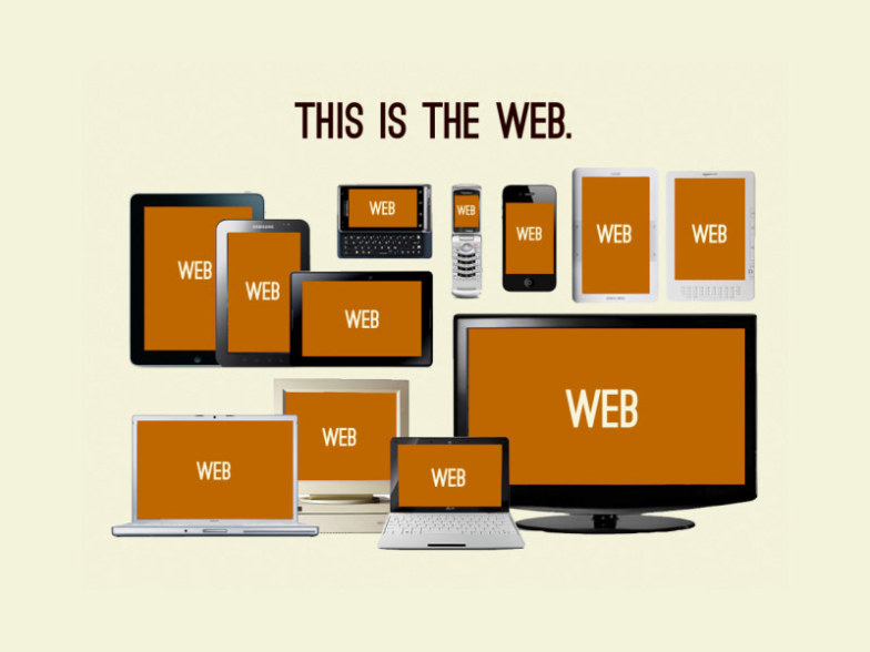 This is the web - adaptive Design