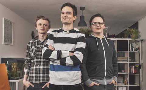 UX Passion founders: Antun Debak, Vibor Cipan and Darko ?engija