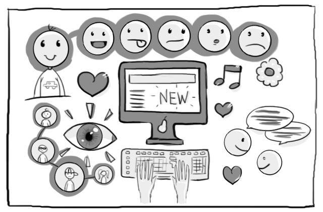 UX designing for emotions