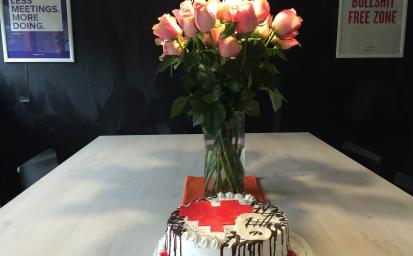 UX Passion's Birthday Cake